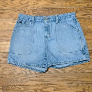 Tommy Hilfiger high waisted vintage shorts
